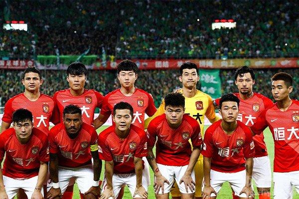 广州恒大目前是中超最强的队伍