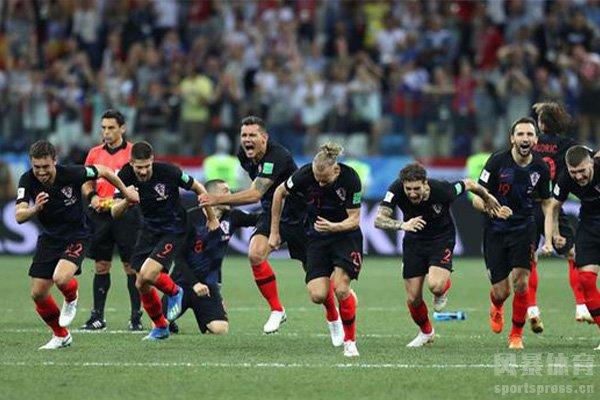 克罗地亚在世界杯的表现十分出色
