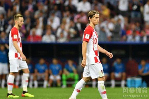 克罗地亚目前排名世界第六