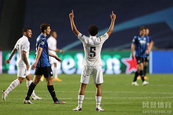 在刚刚结束的欧冠1/4淘汰赛,巴黎圣日耳曼2比1逆转亚特兰大