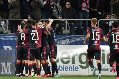 意甲球队卡利亚里4人感染新冠 球队训练被迫推迟