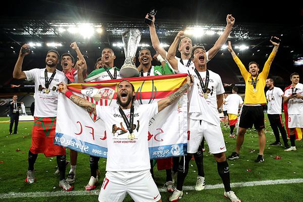 塞维利亚3比2击败国米!欧联之王实至名归!