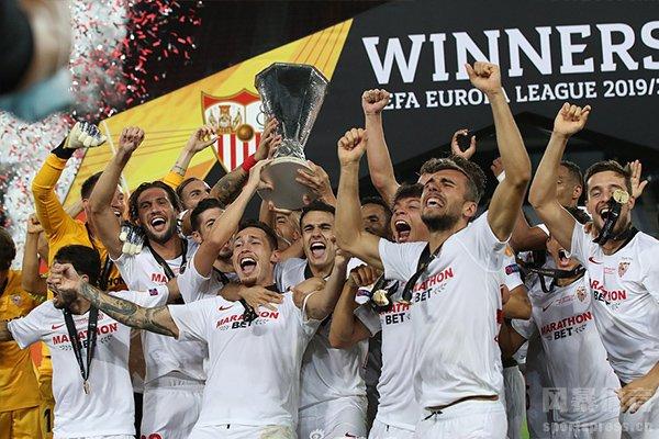 这也是塞维利亚获得的第六座欧联杯冠军