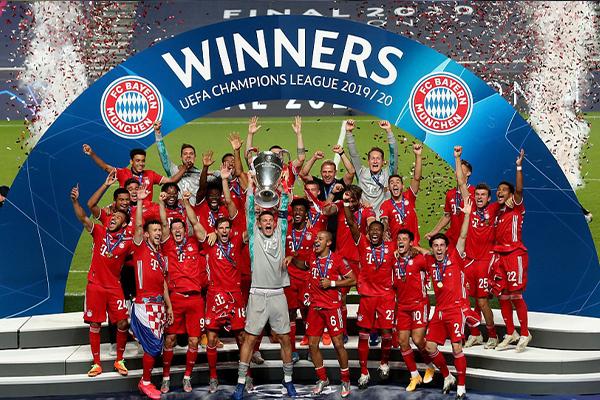 拜仁1比0击败巴黎圣日耳曼!拜仁重回欧洲之巅!