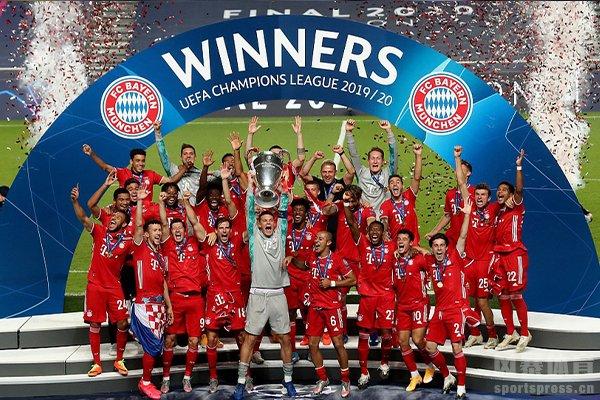 拜仁获得本赛季欧冠冠军