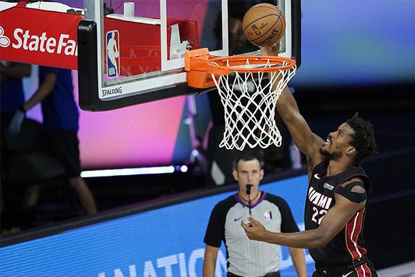目前热火的状态十足,争夺NBA总冠军也未必不可