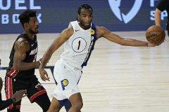 NBA季后赛热火99比87击败步行者