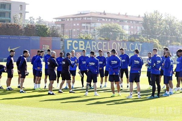 梅西解约前也会去巴萨进行训练
