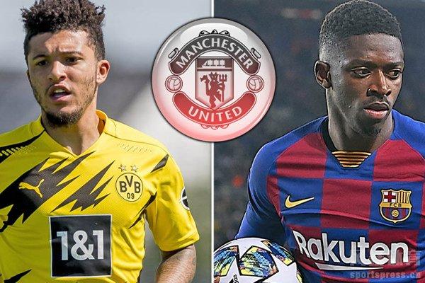 曼联本赛季引援桑乔和登贝莱都失败,对于梅西来曼联希望非常低