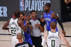 NBA季后赛雄鹿118比104击败魔术