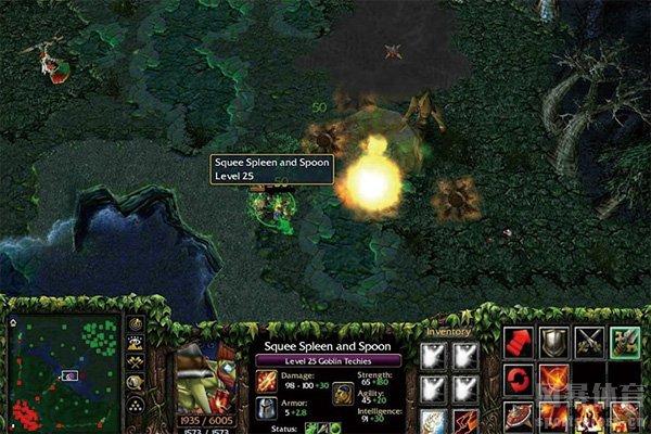 DOTA2游戏画面