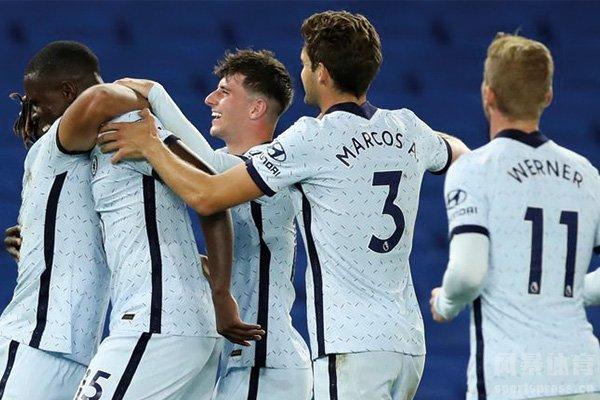 切尔西3-1大胜布莱顿 蓝军取得英超开门红
