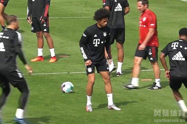 拜仁全队合训备战新赛季 拜仁慕尼黑训练视频