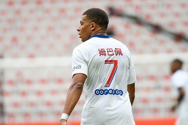 大巴黎3比0击败尼斯!姆巴佩回归锋线伤害爆炸!