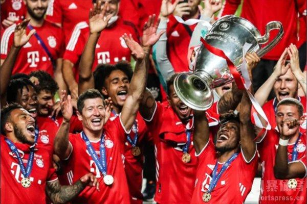 拜仁在上赛季拿到了欧冠冠军