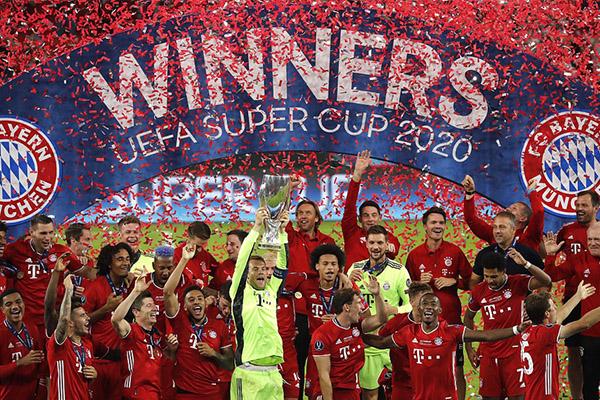 拜仁赢得欧洲超级杯能赢多少奖金?