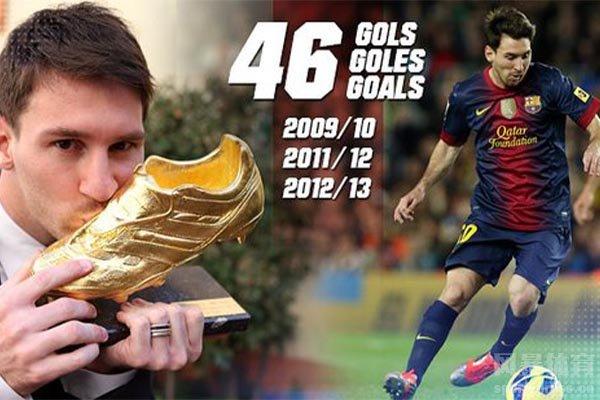 梅西在过去的几年进球效力非常高