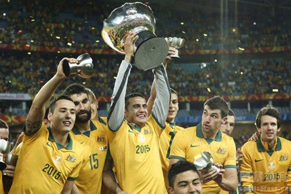 最终澳大利亚队也是获得2015亚洲杯冠军
