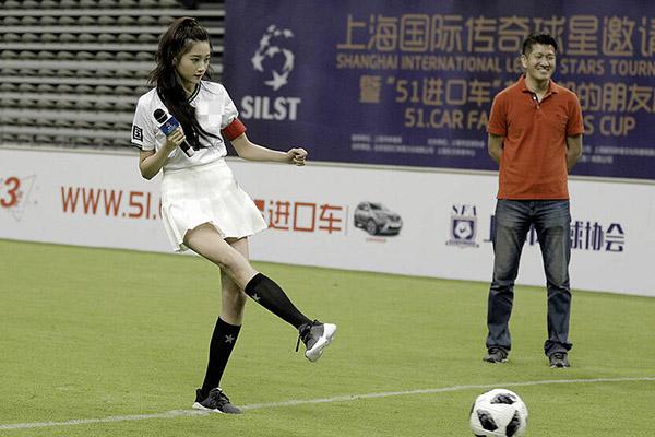 <b>关晓彤踢足球是怎么回事?具体有什么影响?</b>
