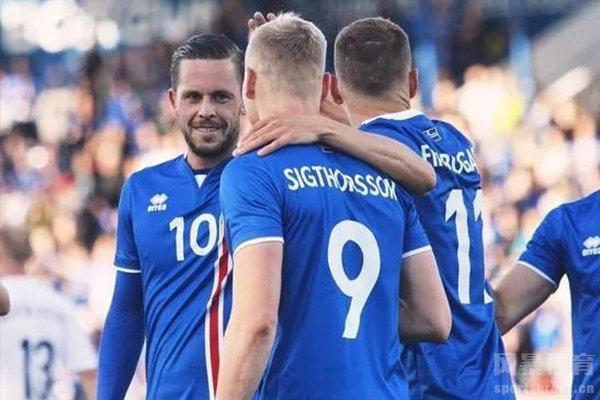 冰岛队在2018年是第一次进军世界杯