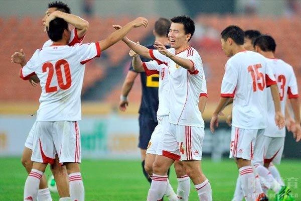 2013东亚杯中国队表现非常出色