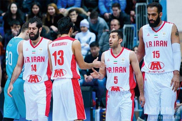 伊朗男篮黄金一代 曾经中国男篮最好的对手