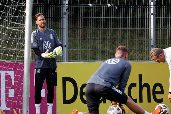目前德国队也是在全力备战欧国联的比赛