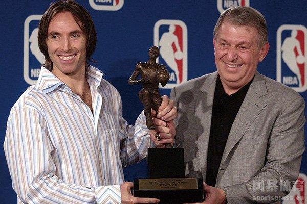 纳什获得MVP