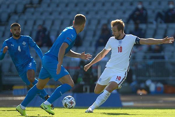 欧国联英格兰1比0绝杀冰岛!冰岛队的防御让人敬畏!