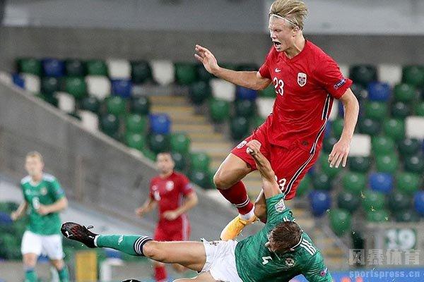 挪威对战北爱尔兰最终挪威5比1完胜