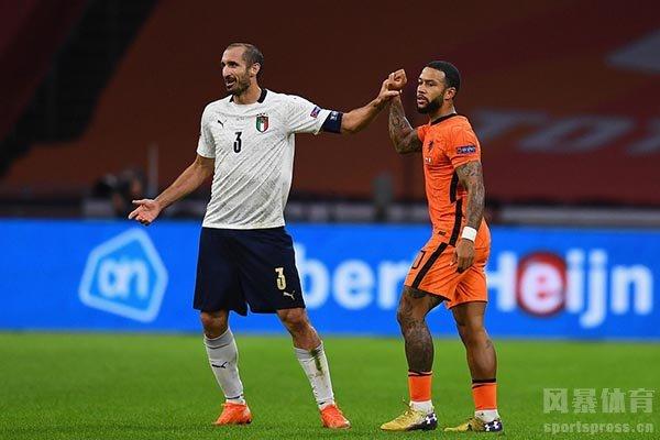 意大利1比0击败荷兰