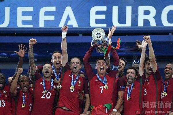 葡萄牙队获得了2016欧洲杯冠军