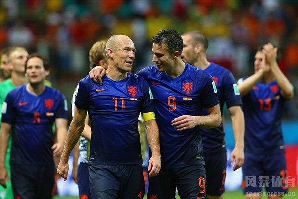 荷兰队近些年关键比赛都败在点球大战上