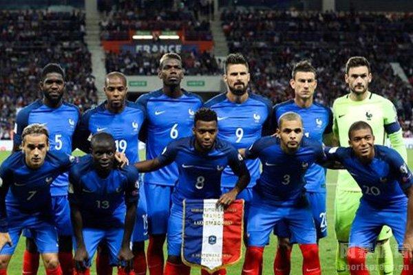法国队拥有着非常强大的实力