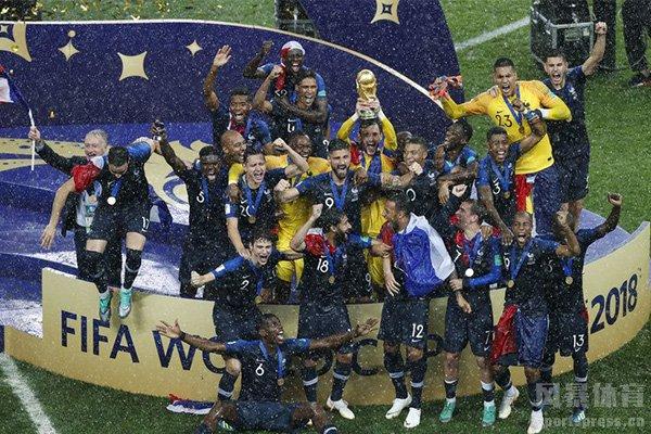 法国队最终获得了2018世界杯冠军