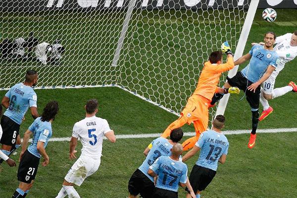 乌拉圭VS智利直播视频及比分预测