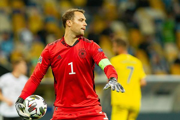 目前来说在欧国联第三轮的比赛之中,德国队客场2比1击败乌克兰