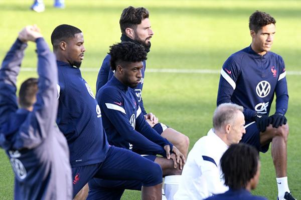 法国队备战欧国联 欧洲杯决赛战况还会再度上演吗