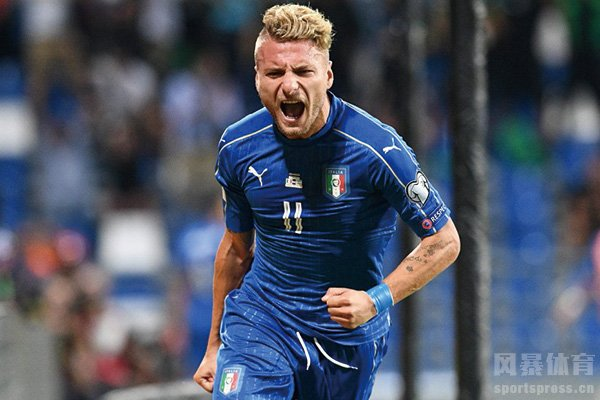 意大利前锋因莫比莱