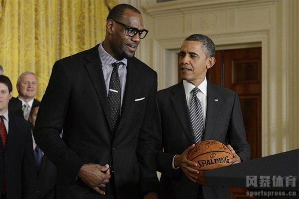 奥巴马和詹姆斯是好朋友