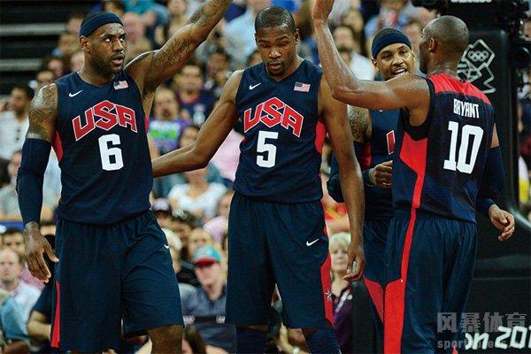 美国男篮梦十队成员