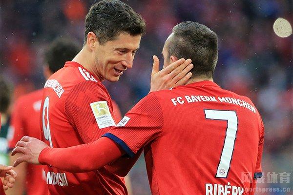 拜仁身为上赛季欧冠冠军实力十分强大