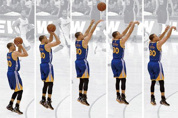 库里投篮姿势解析 为什么说库里投篮姿势不标准?