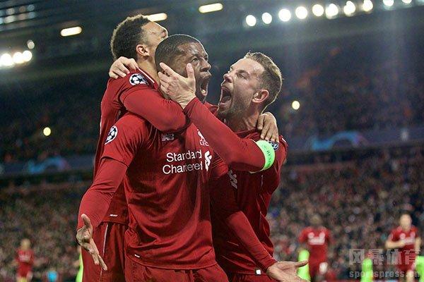 利物浦本场比赛拿到3分没有太大问题