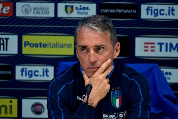 官方:意大利国家队主帅曼奇尼新冠检测阳性