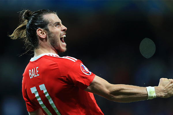 贝尔在威尔士再度成为领袖 14场比赛参与14个进球
