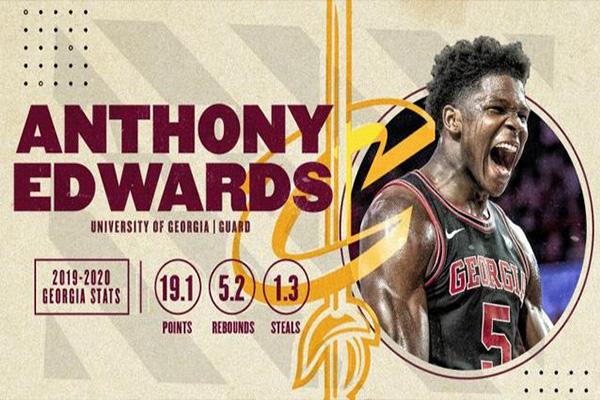 <b>2020NBA选秀结果出炉 NBA选秀状元爱德华兹</b>