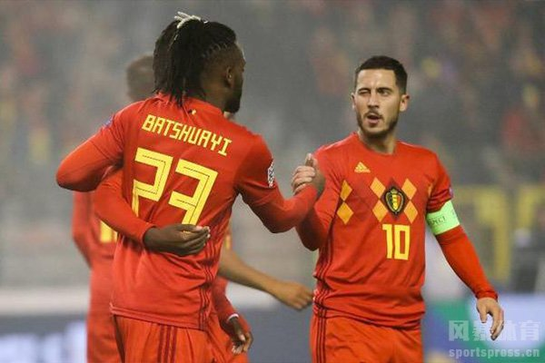 当然比利时队积分榜一直是世界第一