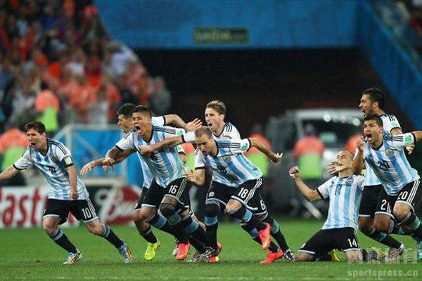 阿根廷点球水平在国家队层面之中属于中游水平