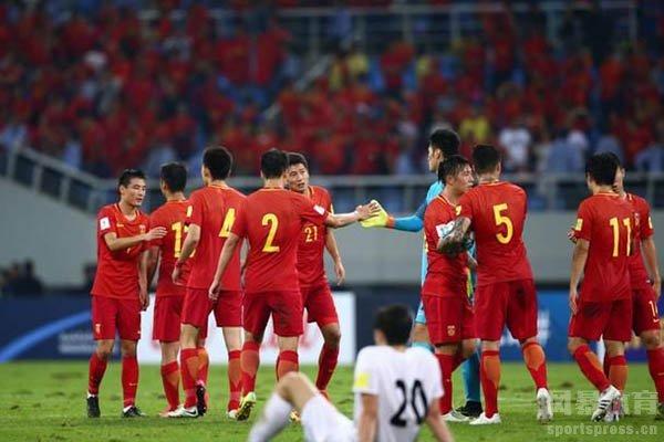 中国队目前只进军过1次世界杯正赛